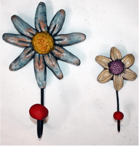 Perchas Flor Grande