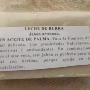 Pastilla de jabón Artesanal y Natural 100% 100 gramos aproximadamente.-min